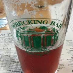 Photo taken at Wrecking Bar Brewpub by corey h. on 6/15/2013