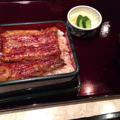 Photo taken at うなぎ和食 味乃宮川 by wato n. on 7/11/2013