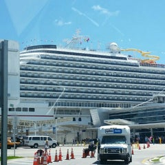 Photo taken at Port Of Miami - Carnival Cruise by Nabil D. on 6/30/2015