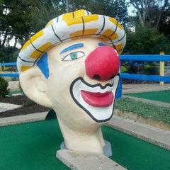 Photo taken at Peter Pan Mini Golf by Gavin F. on 10/22/2012