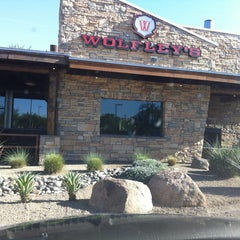 Photo taken at Wolfley's Neighborhood Grill by EventSpark on 6/19/2013
