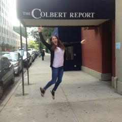 Photo taken at The Colbert Report by Marissa S. on 9/9/2013