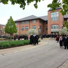 Photo taken at Brandel Library - North Park University by Lizelle M. on 5/11/2013