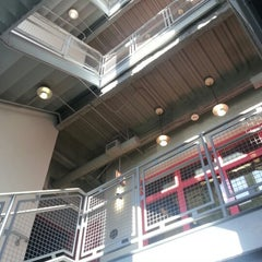 Photo taken at Brandel Library - North Park University by Lizelle M. on 12/11/2012