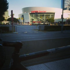 Photo taken at Pico (Chick Hearn) Metro Station by Chris B. on 2/22/2013