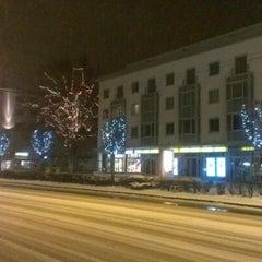 Photo taken at Ginzkeyplatz by Victoria V. on 12/9/2012