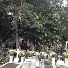Photo taken at Panteón San Rafael by Javier S. on 11/2/2013
