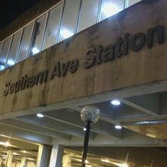 Photo taken at Southern Avenue Metro Station by Shawanda F. on 1/16/2013