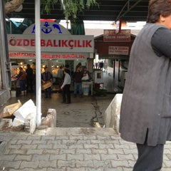 Photo taken at Balıkçılar Çarşısı by Meltem A. on 12/2/2012