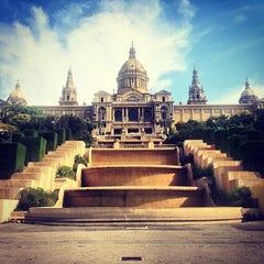 Photo taken at Museu Nacional d'Art de Catalunya (MNAC) by Andrey on 7/21/2013