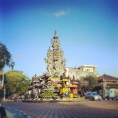 Photo taken at Monumen Puputan Klungkung by Irwan We on 8/25/2013