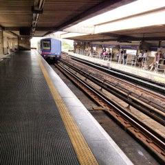 Photo taken at Estação Portuguesa-Tietê (Metrô) by Renan O. on 12/3/2012