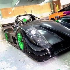 Photo taken at Motorsport Playground by BadBoyBen on 3/7/2014