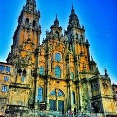 Photo taken at Catedral de Santiago de Compostela by Manuel on 12/18/2012
