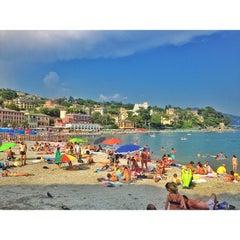 Photo taken at Lungomare di Santa Margherita Ligure by Manuel on 8/27/2013