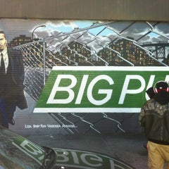 Photo taken at Big Pun Memorial Mural by Jose on 10/13/2012