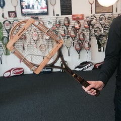 Photo taken at City Racquet Shop by Vika on 10/19/2014