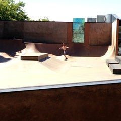 Photo taken at Seattle Center Skatepark by Amy K. on 8/16/2013