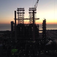 Photo taken at KNPC - MAB Refinery by Abdalla A. on 2/5/2014