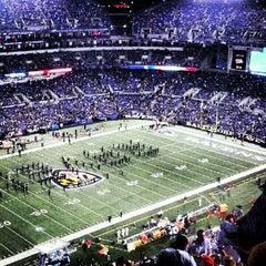 Photo taken at M&T Bank Stadium by Ryan H. on 9/28/2012
