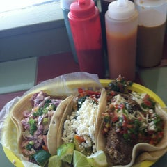 Photo taken at Big Truck Tacos by Kirsten on 2/26/2013