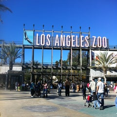 Photo taken at Los Angeles Zoo and Botanical Gardens by Maura N. on 1/20/2013