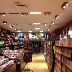 Photo taken at Newbury Comics by Bill on 10/30/2012