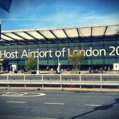 Photo taken at London Heathrow Airport (LHR) by PurplePlum S. on 10/19/2012