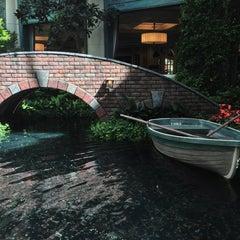 Photo taken at Bellagio Conservatory & Botanical Gardens by Lisa K. on 7/29/2013