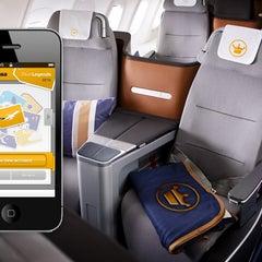 Das Foto wurde bei Lufthansa Flight LH 405 von Lufthansa am 11/30/2012 aufgenommen