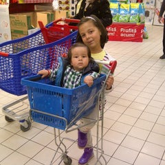 Photo taken at Carrefour by Andreea D. on 11/9/2014