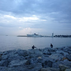 Photo taken at Tuzla Sahili by Sukru @. on 3/9/2013