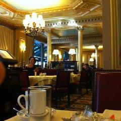 Photo taken at Café de la Paix by Brandon M. on 10/1/2012