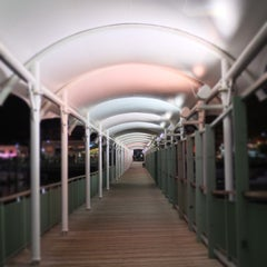 Photo taken at NY Waterway Ferry Terminal Edgewater by Vincinati on 10/23/2013