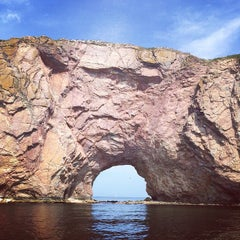 Photo taken at Rocher Percé by Olivier C. on 8/2/2014