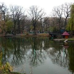 Photo taken at Городской парк культуры и отдыха им. М. Горького by Oleg V. 🇷🇺 on 11/4/2012