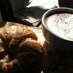 Photo taken at La Farm Bakery by Nichole on 10/13/2012