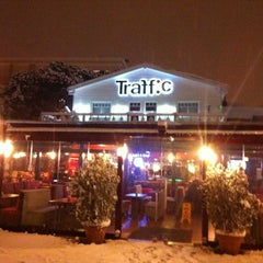 Photo taken at Traffic Cafe & Pub by Yavuz T. on 1/19/2013
