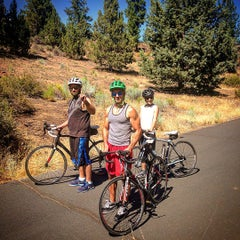 Photo taken at Deschutes River Trail Footbridge by Scott G. on 8/12/2015