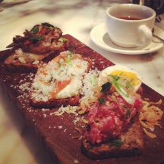 Photo taken at Bar Tartine by Jennie C. on 12/3/2012