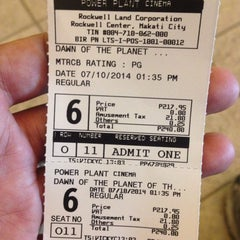Photo taken at Power Plant Cinema 6 by Maui C. on 7/10/2014