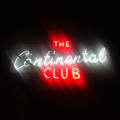 Photo taken at Continental Club by Ryan M. on 11/28/2012