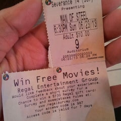 Photo taken at Regal Cinemas Severance Town Center 14 by Ratar on 6/24/2013