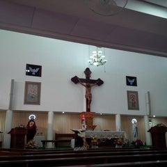 Photo taken at Gereja Hati Yesus yang Maha Kudus by AGUSTINUS R. on 2/8/2015