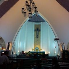 Photo taken at Gereja Katolik Katedral Santa Perawan Maria Dari Gunung Karmel by AGUSTINUS R. on 8/1/2014