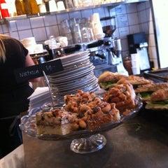 Photo taken at Kaffeverket by Martin G. on 10/19/2012