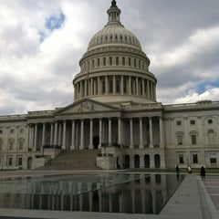 Photo taken at United States Capitol Building by teetawat c. on 4/1/2013