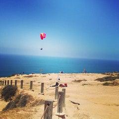 Photo taken at Black's Beach by Brandyn on 6/16/2013