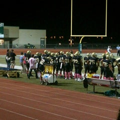 Photo taken at Tahquitz High School by Ricki A. on 9/22/2012
