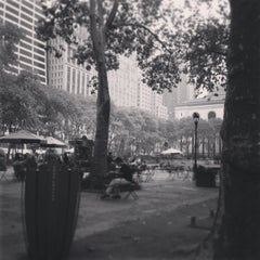 Photo taken at Bryant Park by Phillipe on 10/6/2013